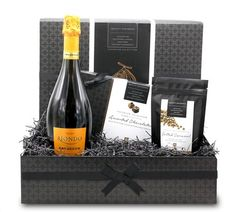 A chocolate gift hamper that`s sure to impress with its striking themed presentation and high quality contents of Prosecco, luxury chocolate selection and Salted Caramel chocolate drops. Chocolate Hampers, Chocolate Gift Boxes, Salted Caramel Chocolate, Chocolate Caramels, Celebration Chocolate, Whiskey Shots, Luxury Chocolate, Seasonal Celebration, Knight
