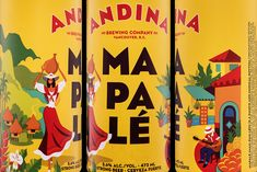 Andina Brewing Company on Packaging of the World - Creative Package Design Gallery