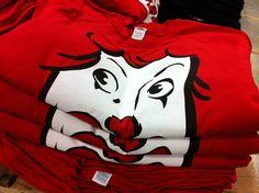 VI - Red Clown Face Tees