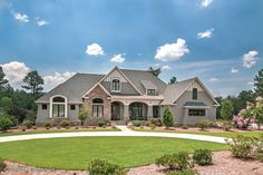 Craftsman Style House Plan - 4 Beds 4 Baths 3048 Sq/Ft Plan #929-1