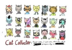 I USED TO BE SCARED OF CATS: Artist Mel Stringer cut cat drawings
