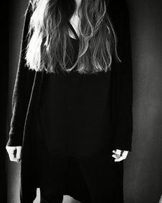 me black & white photo #allblack