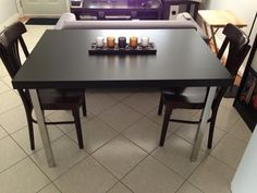 IKEA Hackers: Dinner Table and Desk - Cheap and Easy (Make two to extend)