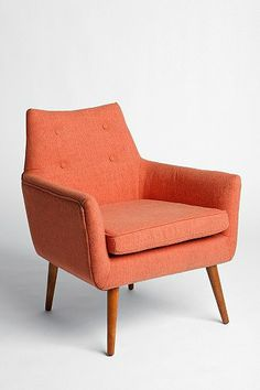 ::EMPTY ROOM::  Modern Chair, Urban Outfitters $299.00 (or something similar in shape and color)