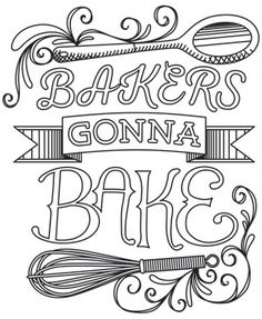 Spice It Up - Bakers Gonna Bake design (UTH10340) from UrbanThreads.com
