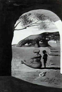 Gestalt by salvador dali