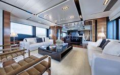 Incredible living space on board 2012 Peri Yachts PERI 37.
