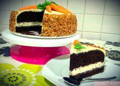 Creando Cupcakes: Carrot cake de chocolate