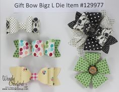 Gift Bow Bigz Die from Stampin' Up!