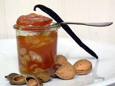 Tentazioni  di  gusto: Confettura di albicocche e mandorle metodo Ferber