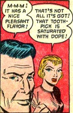 Things just went from bad to worse at the Computer Dating Service. Now  Dope saturated toothpicks were in the waiting room designed to break down inhibitions  ....