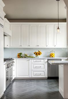 Image result for herringbone kitchen floor