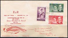 Stamps Covers 1954 Australia Royal Visit Set on First Day Cover Stamp Dealers, Buy Stamps, First Day Covers, One Day, Commonwealth, Postage Stamps, Envelopes, Postcards, British