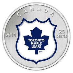 2014 Coin and Stamp set featuring the Toronto Maple Leafs. This painted cupronickel coin has a diameter of 35 millimetres. The reverse design features a coloured team logo in colour captured within the NHL shield on a frosted background. Nhl Logos, Hockey Logos, Sports Team Logos, Sports Art, Basketball Gifts, Sports Gifts, Softball Gifts, College Basketball, Maple Leafs Hockey
