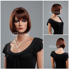 Hot-Sale-Kanekalon-Light-Brown-Bob-Blunt-Bang-Chin-Length-Hairstyle-Straight-Women-Wigs-with-Wig.jpg_350x350.jpg (350×350)