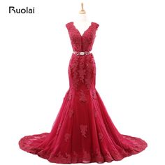 Back To Search Resultsweddings & Events Lace Flowers Prom Dresses A-line Evening Formal With Skirt Womens Wedding Party Gown Illusion Lace Up Pd62