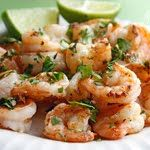 Cilantro lime shrimpies