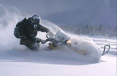 snowmobiling! makes winter worth it!