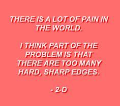 Gorillaz Quotes, Gorillaz Art, Gorillaz Lyrics, Art Puns, Finding Meaning In Life, Jamie Hewlett, Undertale Fanart, Band Memes, Empowering Quotes