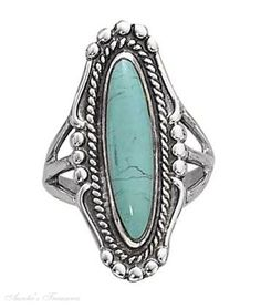 In LOVE with turquoise rings!