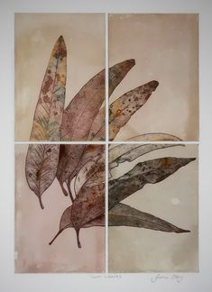 Since childhood Julia has loved anything to do with paint, pencils, ink, chalk and paper. Leaf Images, Textile Prints, Lovers Art, Printmaking, Plant Leaves, Illustration Art, Graphic Design, Ink, Drawings