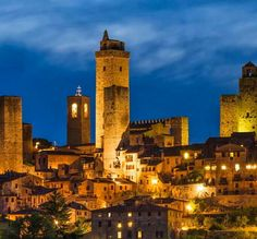 San Gimignano, Siena, Tuscany