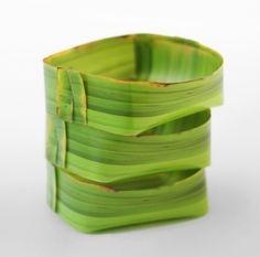 Banana Leaf Tray Set