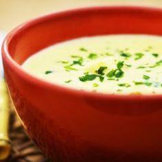 Sopa de milho e palmito