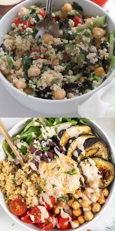 Vegetarian Recipes Dinner, Lunch Recipes, Mexican Food Recipes, Whole Food Recipes, Cooking Recipes, Healthy Recipes With Quinoa, Meals With Quinoa, Vegetarian Quinoa Recipes, Quinoa Salad Recipes