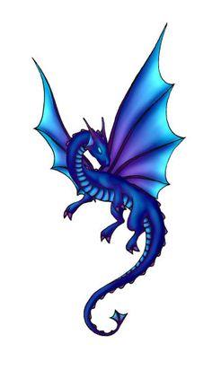 Dragon Tattoo by Anniasha.deviantart.com on @DeviantArt
