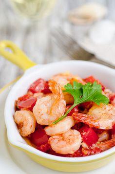 Camarones al ajillo (Garlic shrimps)