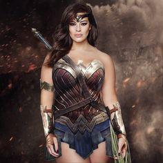 Wonder Woman Ashley Graham