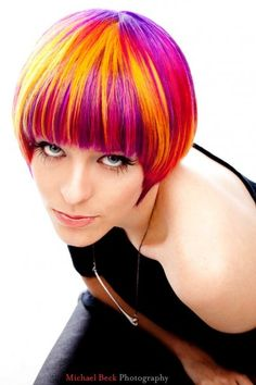 color brilliance brights | hair color # scruples # rene antonio # portfolio