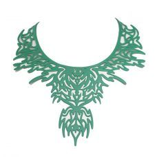 laser cut mint - would look so cool with a beige silk blouse and maybe red trousers -