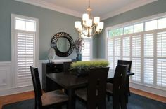 Dining room color, I like the light too. #home #decor