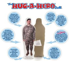 Hug a Hero Doll - realy wanted these for the kids, but never got a good shot of Daddy before he left. :(