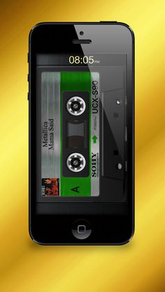 Cassette Gold on App Store:   Do you still remember the cassettes from the 80s? Now you can have it again. You have all your songs from your iPhone or iPod Touch ready in the library. Cassette Gold is a cassette player emulator. It plays your music and shows an animated cassette. There is a large sel...  Developer: Alexander Rutkowskij  Download at http://ift.tt/1zqCbDg