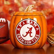 Alabama Crimson Tide Ceramic Pumpkin Jar