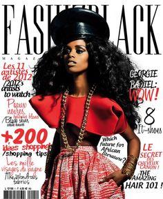 Fashizblack Magazine January 2012