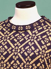 Ravelry: Fair Isle Pullover - #105 pattern by Sue McCain