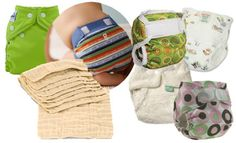 The Simple Mom review of a few different cloth diaper options
