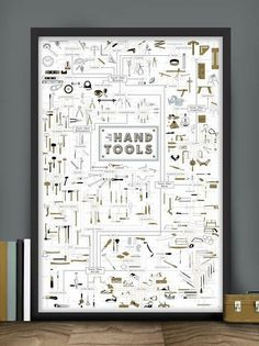 The Chart of Hand Tools – The Colossal Shop