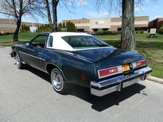 1977 Chevy Impala. My first car..mind was dark green and