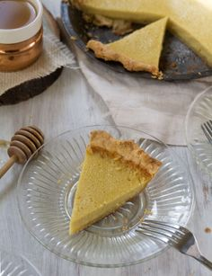 Chamomile Buttermilk Pie
