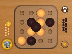 In-game. Soft graphics in wood and cartoon-style avatars will keep the family in a friendly mood all the time. The pyramid is viewed from top.
