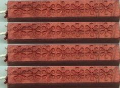 Brick Red Pearl Flexible Sealing Wax (with wick) - 4 Sticks