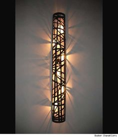 Column Lamp design, adaptable a paredes y techos Cool Lighting, Outdoor Lighting, Lighting Design, Custom Lighting, Light Luz, Lamp Light, Blitz Design, Luminaire Design, Led Lampe