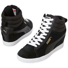 Classic Wedge High Tops by Puma North America - The hidden wedge sneaker  that gives you b35e07cb0672