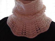 Lace Neck Warmer by joandben on Etsy, $32.00