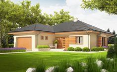 Murovaný jednopodlažný dom je určený pre 4 člennú rodinu. Dispozične riešenie vhodne rozdeľuje dom na samostatnú nočnú a dennú časť. Otvorená a priestranná obývacia izba je prepojená s kuchyňou. Veľké okná smerujúce do záhrady presvetľujú celý interi ...